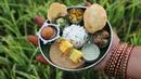 Miniature Punjabi Thali | Punjabi Thali Recipe | Miniature Cooking 20 | mini foodkey