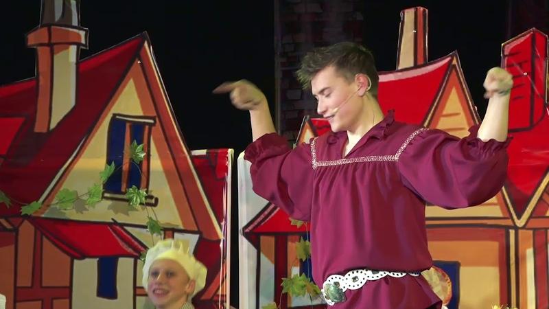 Новогодняя сказка Заколдованный замок в ГДК г. Белорецка
