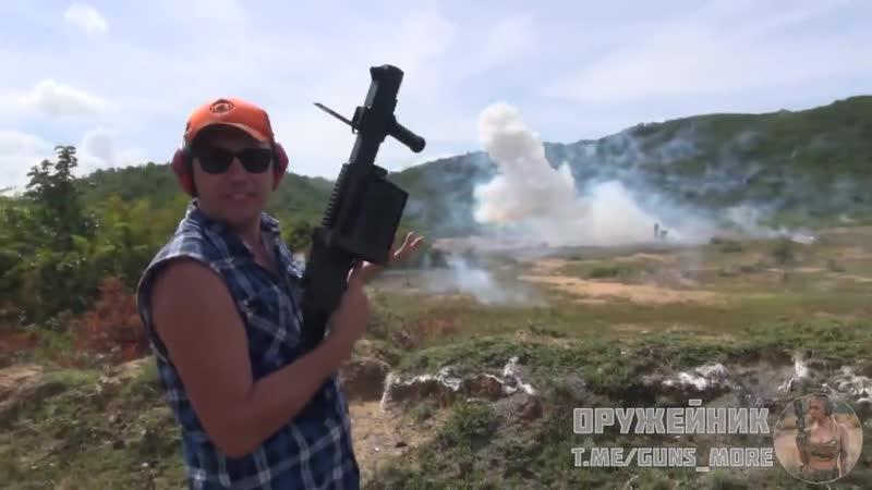 40 миллиметровый гранатомёт LG 440 с осколочными снарядами