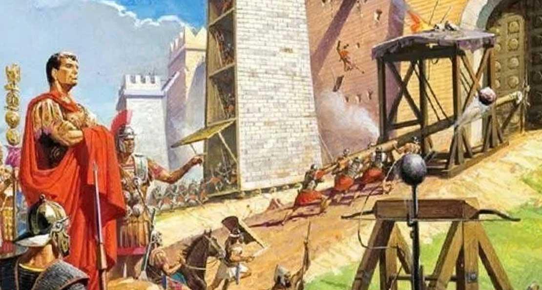 Римляне ведут осаду