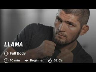 "Khabib ""Llama"" Workout |Khabib Nurmagomedov| The Eagle| 10 minutes  workout|Beginner|Sulaman 21"
