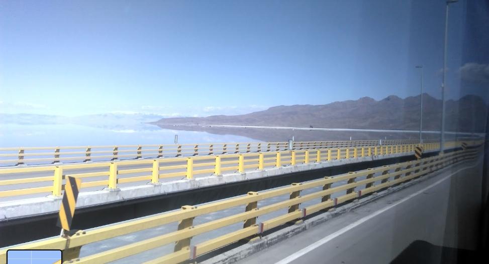 Мост через озеро Урмия