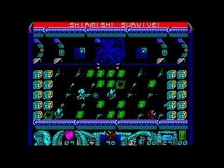 Alien Girl Skirmish Edition 128k (2021) Walkthrough, ZX Spectrum