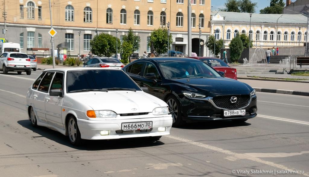 Автомобили в Саратове, 2020