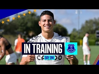 EVERTON TRAIN IN FLORIDA! | FIRST SESSION IN ORLANDO AS BLUES PREPARE FOR FLORIDA CUP
