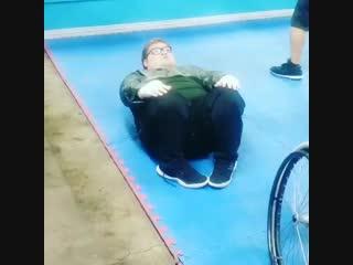 Когда ты больным детям даешь мотивацию в спорте.