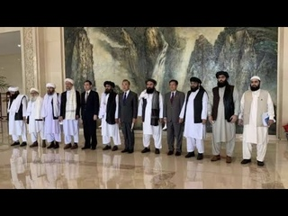 Chinese Foreign Minister Wang Yi meets with Afghan Taliban delegation in Tianjin