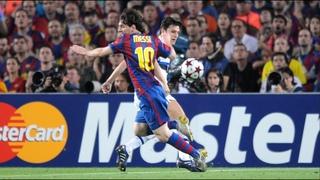 Barcellona-Inter 1-0, 2nd leg semi-finals Champions League 2009/2010