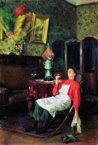 Картина «Пока нет хозяина», 1911 год.