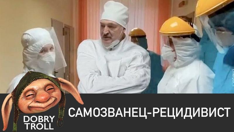 Dobry Troll Самозванец или псих Беларусь 2020 лукашенко в смирительной рубашке самозванец юмор