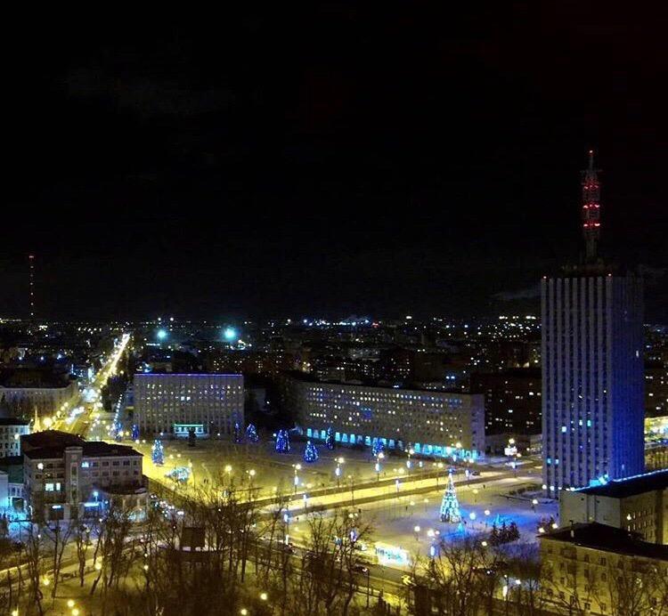 Ночной Архангельск ❤️