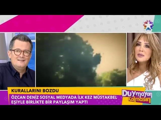 Özcan Deniz Kurallarını Bozdu 'Sevgilisi Feyza Aktan ile İlk Paylaşımını Yaptı'