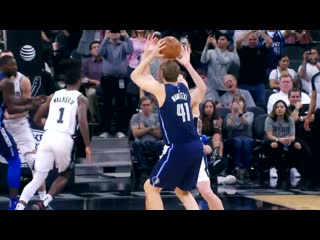 Dirk Nowitzki last point