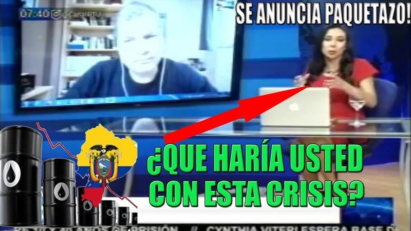 Rafael CORREA se ENOJA con PERIODITSTA CUÁNTICA HOY se ANUNCIA el PAQUETAZO