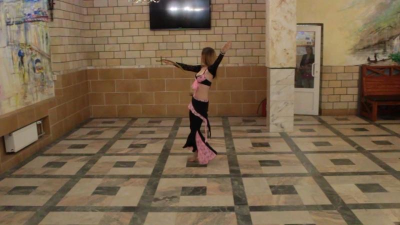 Фестиваль Арабского танца Восточная Краса Сбродова Александра Шоу танец с саблей