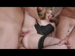 Kizzy Six - Fucking Wet With Kizzy Six, Balls Deep Anal, Gapes, Pee Drink And Swallow GL271 _720p