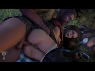 Элли Джоель THe Last of Us sex секс anal анал