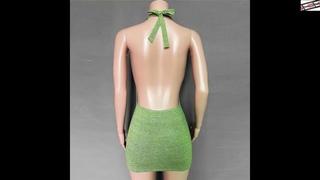 #Tossy #с #лямкой #на #шее #сексуальное #платье #с #открытой #спиной #для #женщин 2021 #новые
