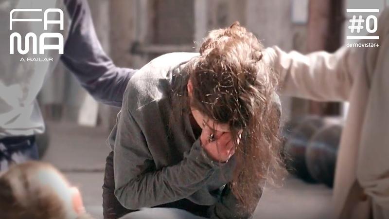 ESTHER llora de dolor en el ensayo con CARLA y SANDRA FAMA A BAILAR 2019