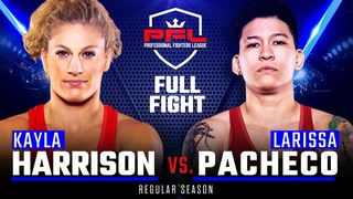 Full Fight | Kayla Harrison vs Larissa Pacheco | PFL 1, 2019