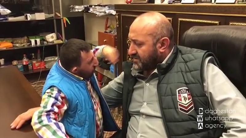 Турецкий беспредельщик напал на дворника