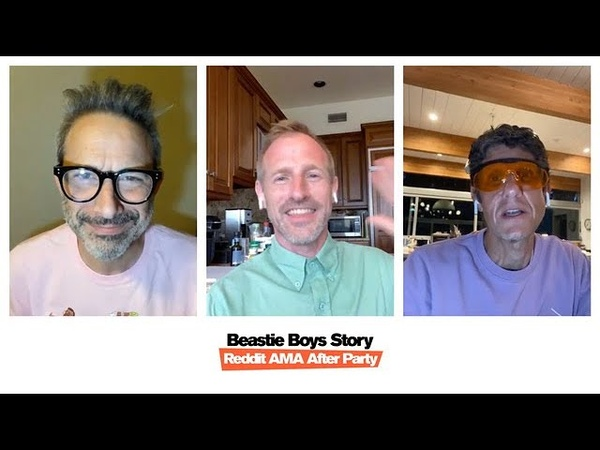 Beastie Boys Story Reddit AMA After Party with Mike D Adrock and Spike Jonze