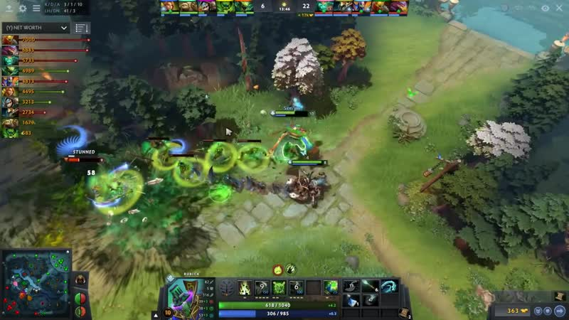 How to Play Rubick like a PRO PLAYER by gh Cr1t Arteezy Lil Dota 2