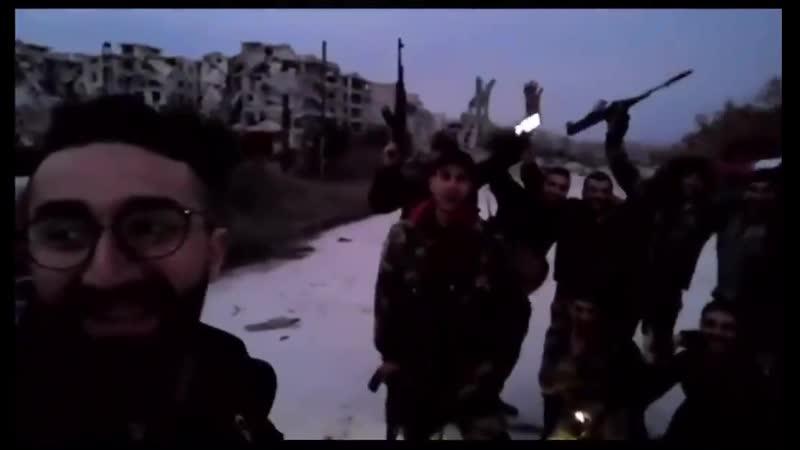 Празднование полного освобождения Алеппо 16.02.20 (2)