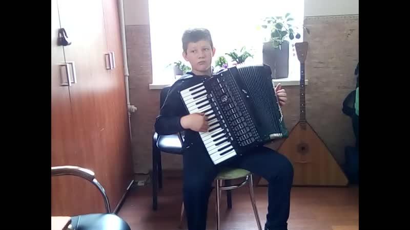 Арифов Эдем аккордеон Средняя группа