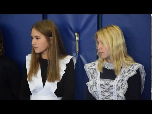 Первый звонок прозвенел в школах Барабинского района