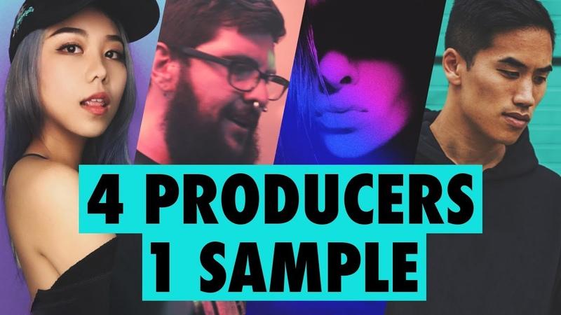4 PRODUCERS FLIP THE SAME SAMPLE ft Dyalla Mr Bill JVNA