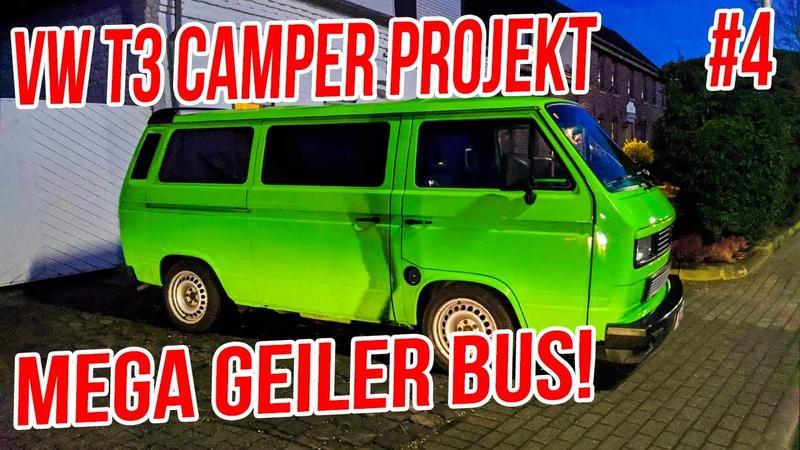 VW T3 Camper 4 Sven's Subaru Ej22 T3 Umbau NurFastGestorben xD