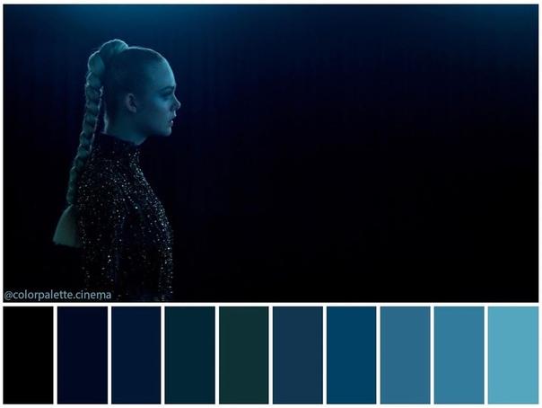 Цветовая гамма фильма «Неоновый демон»