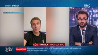 """Emmanuel Macron sur Tik Tok et Instagram: """"Mes enfants ne sont pas dupes"""" - Yannick, auditeur RMC"""