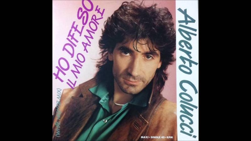 Alberto Colucci Ho Difeso Il Mio Amore White Nights Mix Italo Disco 1989