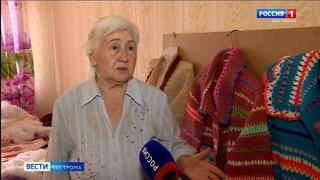 Авиаинженер на пенсии создала коллекцию вязаных изделий в Костроме