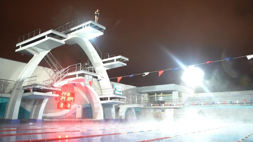 Съёмки модного шоу «Перезагрузка» прошли в бассейне под открытым небом «Чайка», изображение №2