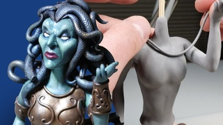 Sculpting MEDUSA from Polymer Clay - Creating Your Requests E03