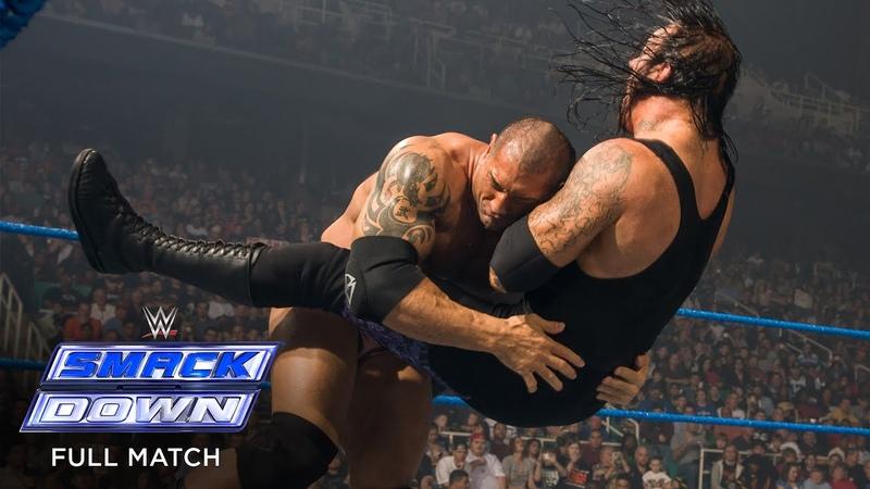 FULL MATCH Undertaker vs Batista World Heavyweight Title No DQ Match SmackDown Apr 25 2008