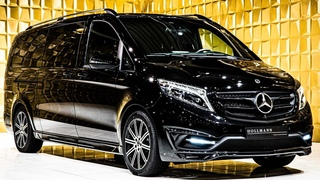 Mercedes-Benz V 300 d 4Matic Customized [Walkaround] | 4k Video
