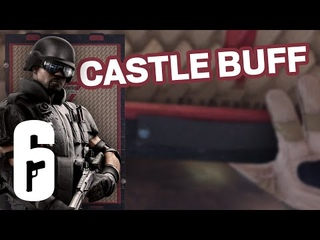 CASTLE BUFF! Rainbow Six Siege Concept