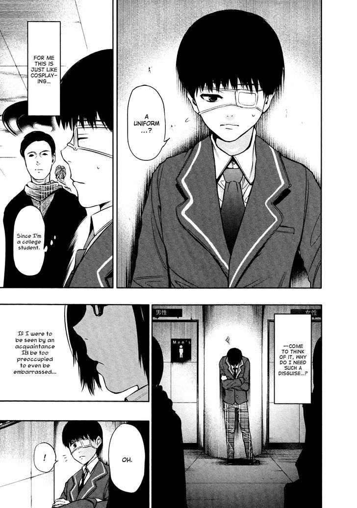 Tokyo Ghoul, Vol.3 Chapter 20 White Gate, image #8