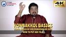 KONNAKKOL BASICS | EP 2 | How To Put Adi Tala | Somashekar Jois | Video Series | 4K ULTRA HD