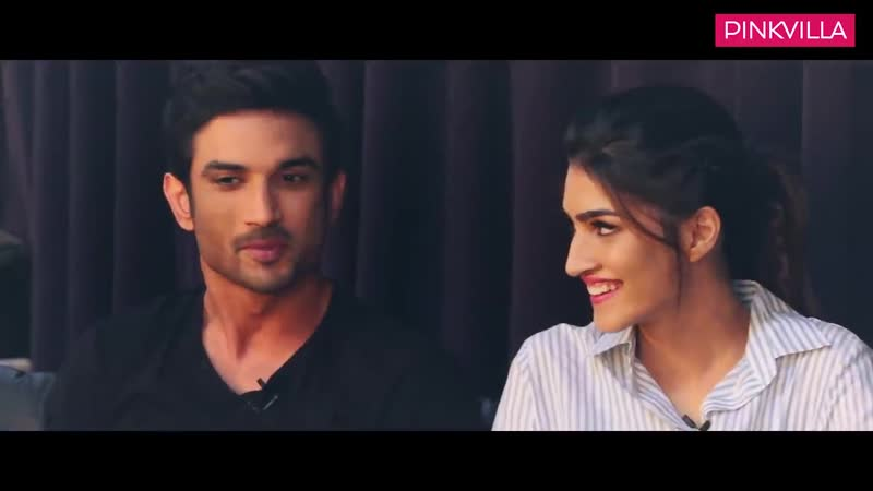 Sushant Singh Rajput and Kriti Sanon's chemistry during the compatibility test is on point 720p