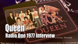 Queen 1977 BBC Radio One Interview Freddie Mercury John Deacon Roger Taylor Brian May by Tom Browne