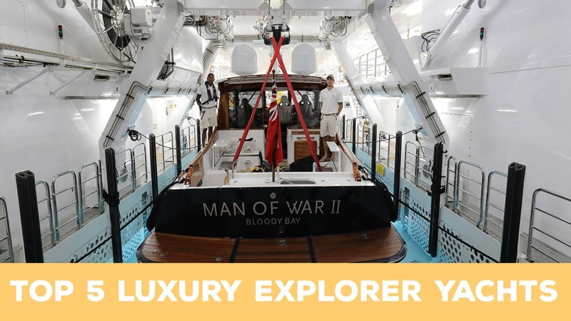 TOP 5 LARGEST EXPLORER YACHTS IN 2020 [Crazy toys including submarine, helicopters more]