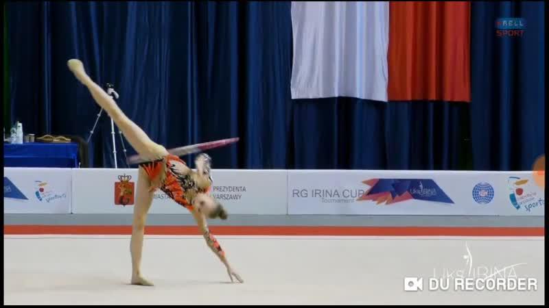 Яна Стрига Обруч Irina Cup 2019