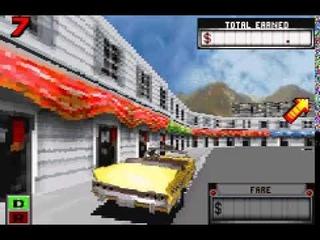 Crazy Taxi   Catch a Ride U T+Rus Pirate (GameBoy Advance)