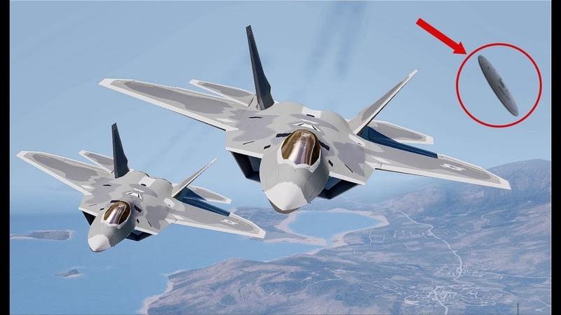 Мы бессильны против них НЛО уничтoжил два истребителя ВВС США