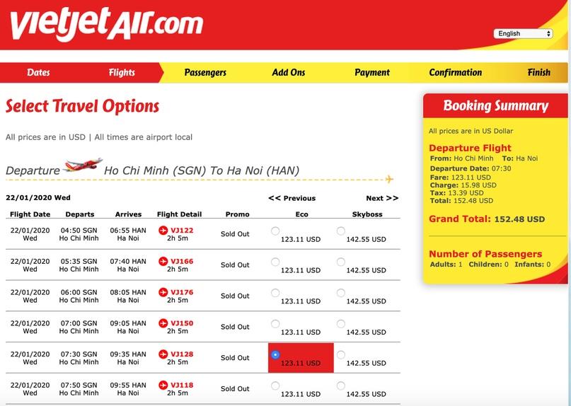 Как сайты аэрокомпаний используют UX дизайн, чтобы получить наши деньги, изображение №3